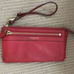 Coach Women's Red Wrist let